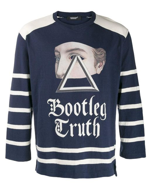 Undercover Blue 'bootleg Truth' Sweatshirt for men