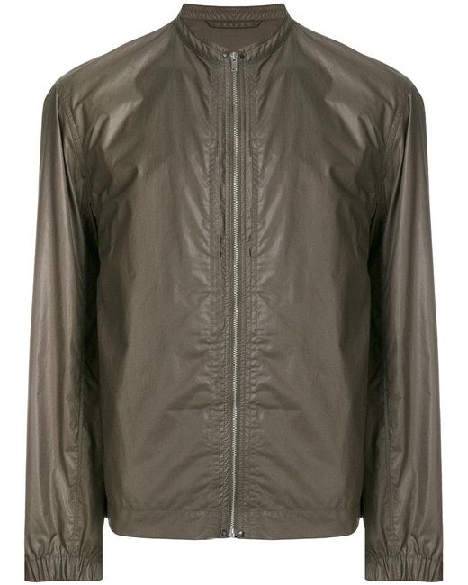 Lemaire - Brown Fitted Bomber Jacket for Men - Lyst