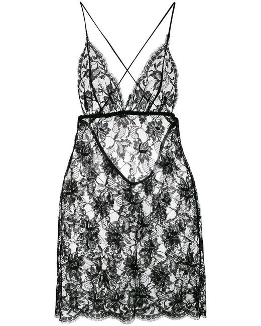 Gilda & Pearl - Black Knightsbridge Short Slip - Lyst