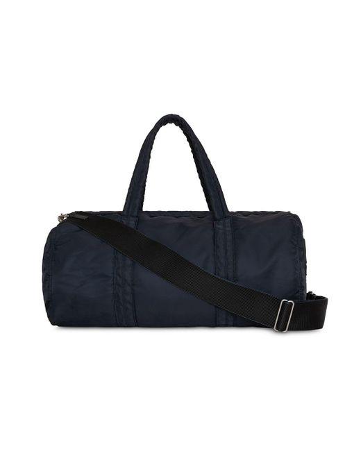 ... Burberry - Blue Large Ekd Aviator Nylon And Leather Barrel Bag for Men  - Lyst ... 22adc103faf81
