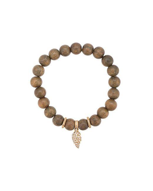 Loree Rodkin - Green Beaded Bracelet - Lyst