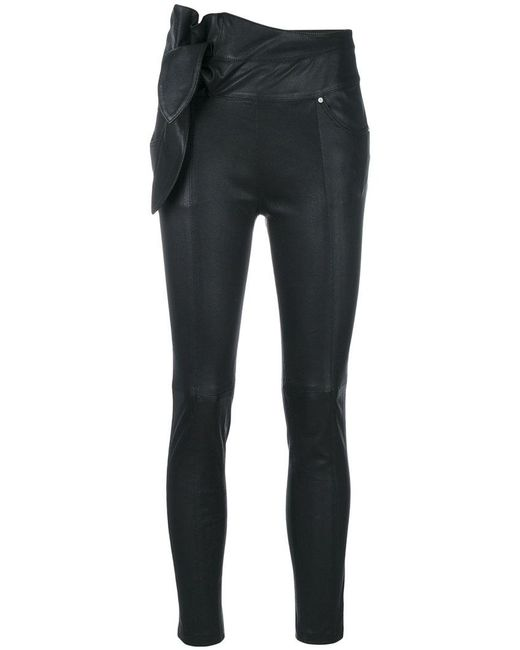 IRO | Black Pantaloni 'alpen' | Lyst