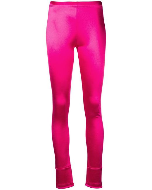 Junya Watanabe - Pink Cuffed leggings - Lyst