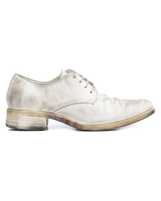 A Diciannoveventitre | White Low Heel Derby Shoes for Men | Lyst