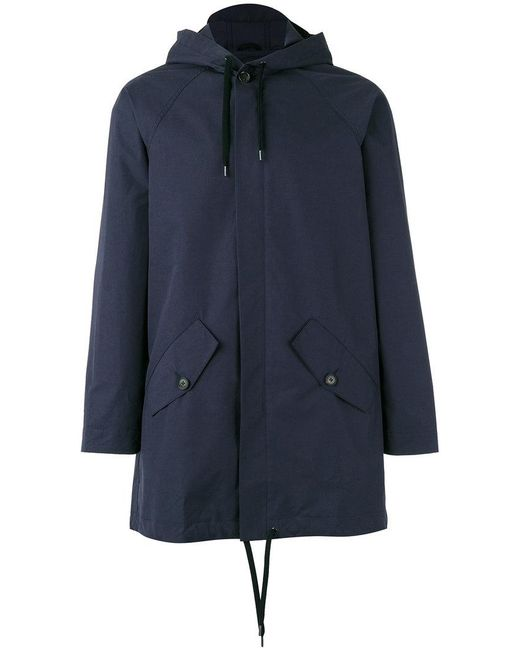 A Kind Of Guise | Blue Drawstring Hooded Jacket for Men | Lyst