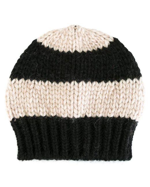 Danielapi striped knit beanie Big Sale For Sale GxScwP