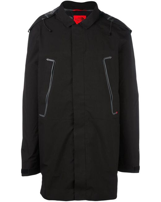 The North Face | Black Duffle Coat for Men | Lyst