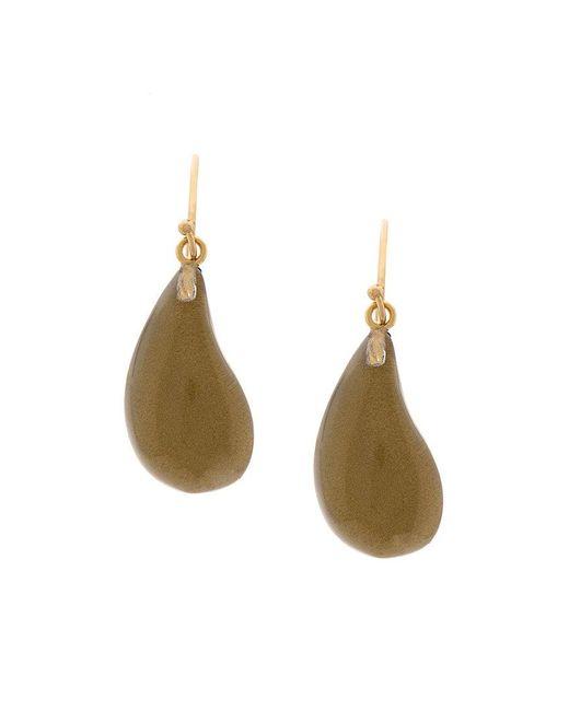 Alexis Bittar | Metallic Teardrop Earrings | Lyst