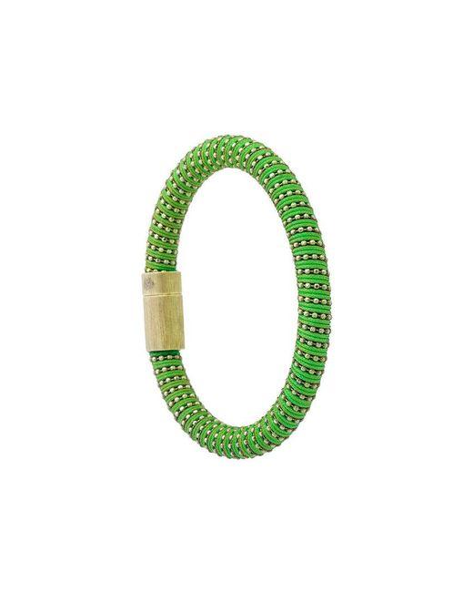 Carolina Bucci | Green Twister Bracelet | Lyst