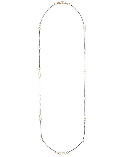 Melissa Joy Manning | Gray Chain Link Necklace | Lyst
