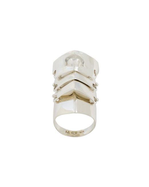 Vivienne Westwood | Metallic Short Knuckle Ring | Lyst