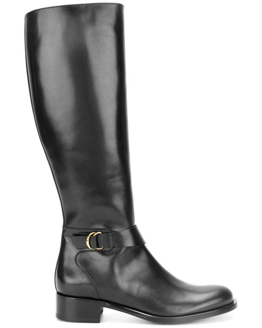Rupert Sanderson | Black Calf-high Boots | Lyst
