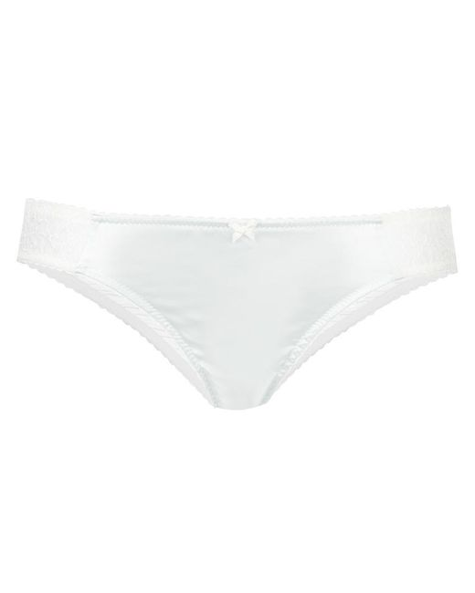 Gilda & Pearl | White ' Gilda For Dolci' Briefs | Lyst