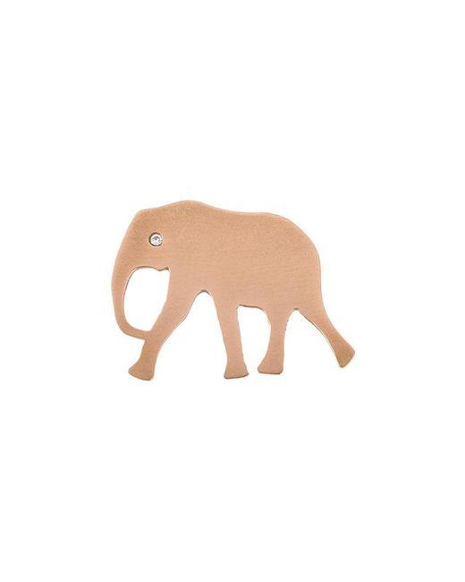 Marc Alary   Blue 'elephant' Diamond Charm Pendant   Lyst