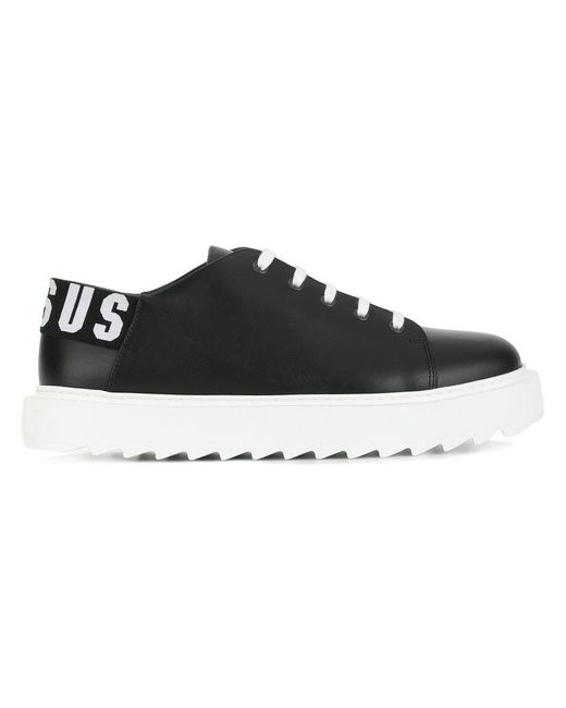 Versus  - Black Lace-up Sneakers for Men - Lyst