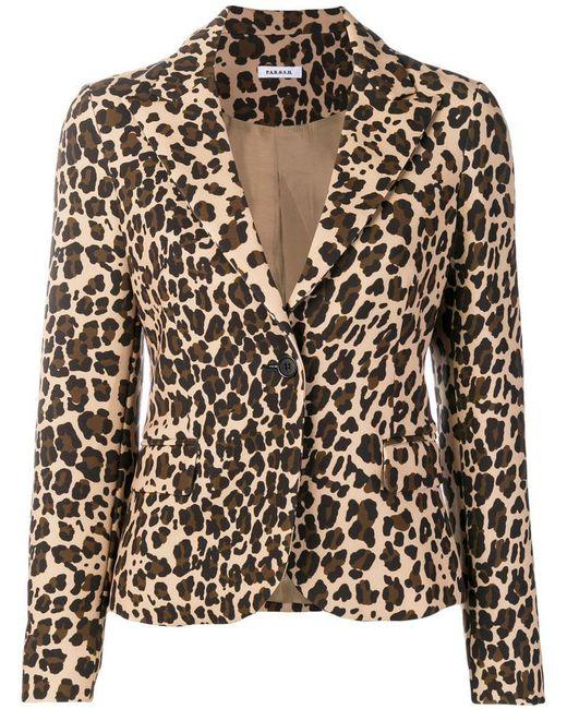 O A R S Lyst Print H Blazer P Leopard wZ6qEw