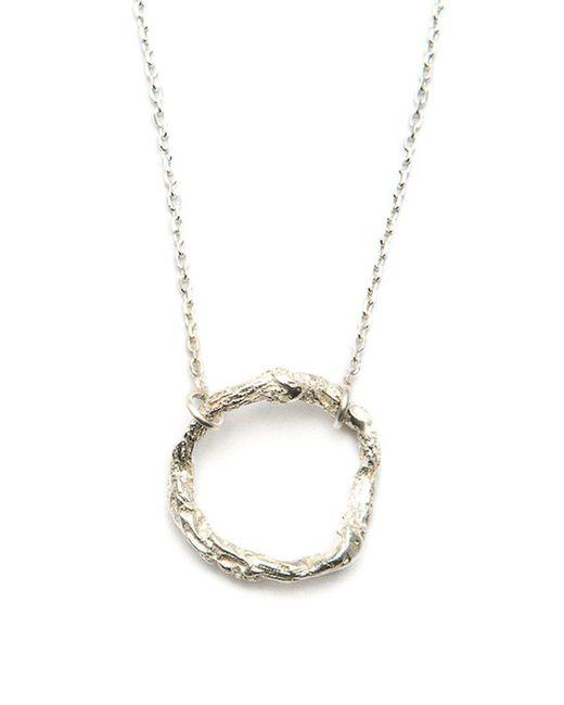 Niza Huang | Metallic 'illusion Circle' Necklace | Lyst