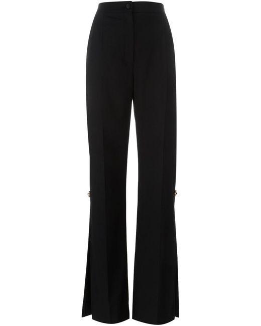 Dolce & Gabbana - Black Side Slit Trousers - Lyst