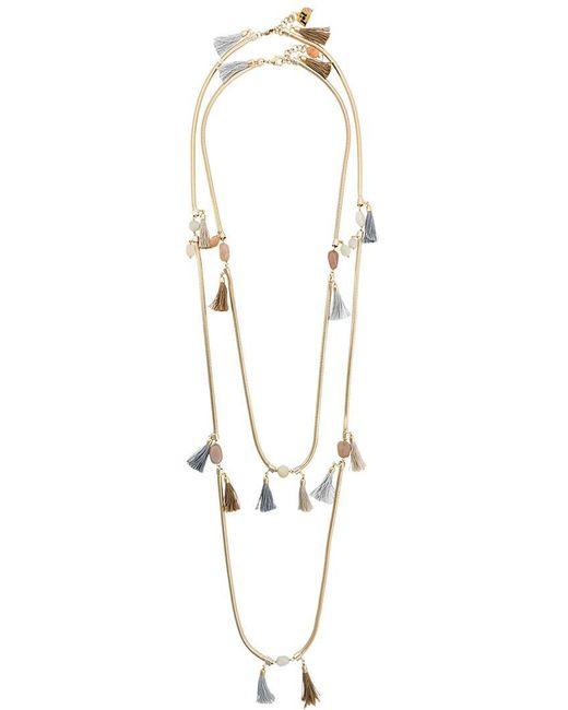 Rosantica - Yellow Frivola Necklace - Lyst