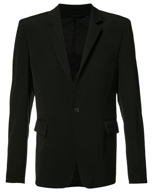 Ann Demeulemeester Grise | Black Flap Pocket Blazer for Men | Lyst