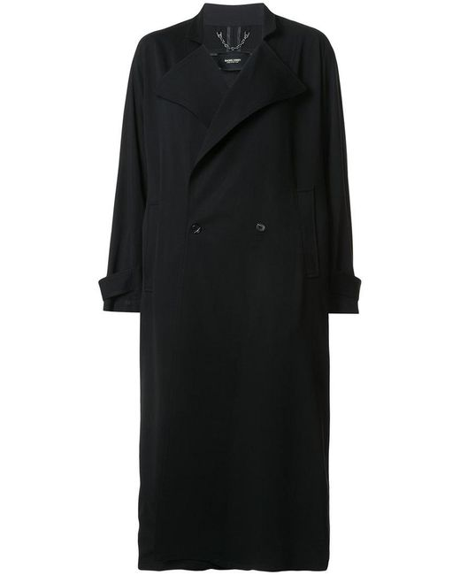 Rachel Comey - Black Boxy Double-breasted Long Coat - Lyst