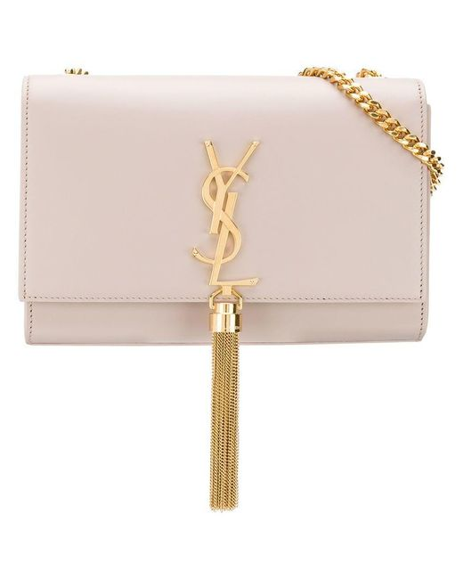 612a00664fe Saint Laurent - Multicolor Kate Crossbody Bag - Lyst ...
