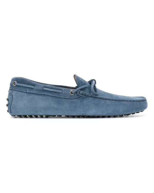 Tod's   Blue Classic Loafers for Men   Lyst