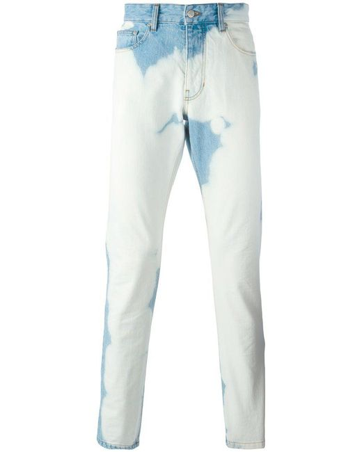 AMI - Blue Ami Fit Jeans for Men - Lyst