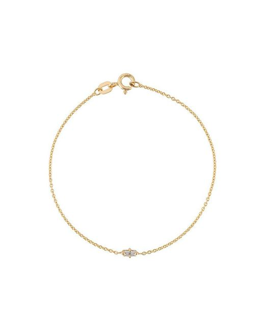 bracelet bracelets yellow baguette women womens gold round thank diamond s