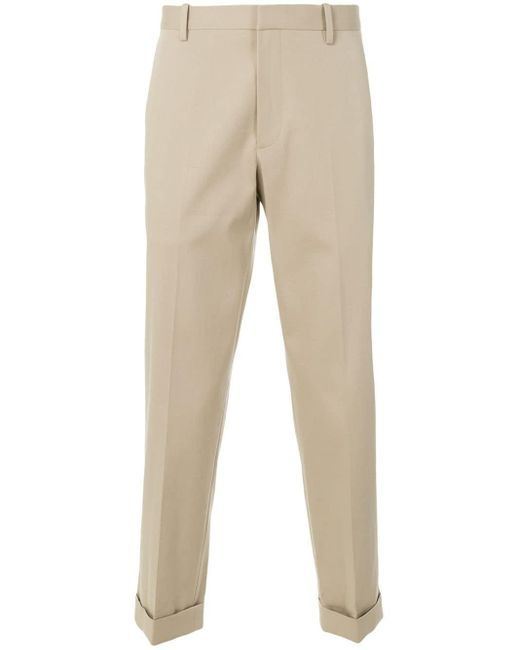 Theory Natural Tapered Trousers for men