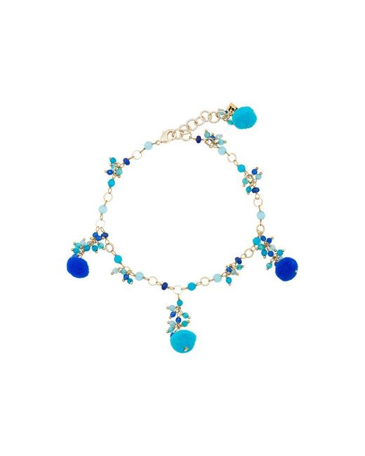 Rosantica - Blue Alchimia Beaded Anklet - Lyst