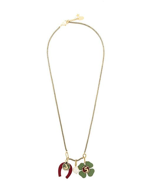 Rada' - Metallic Lucky Charm Necklace - Lyst