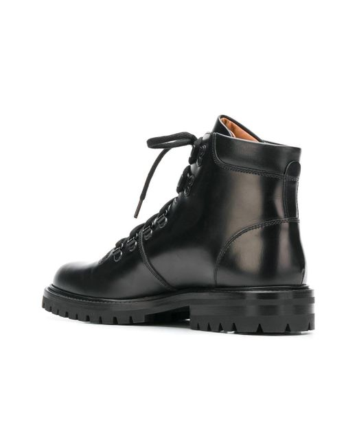 6c4a47ab8796b ... Common Projects - Black Lace-up Hiking Boots - Lyst ...