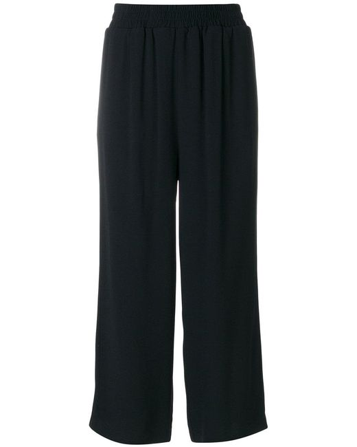 I'm Isola Marras | Black Tailored Cropped Trousers | Lyst