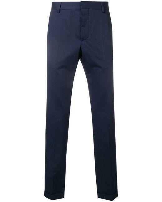 Prada - Blue Tailored Trousers for Men - Lyst