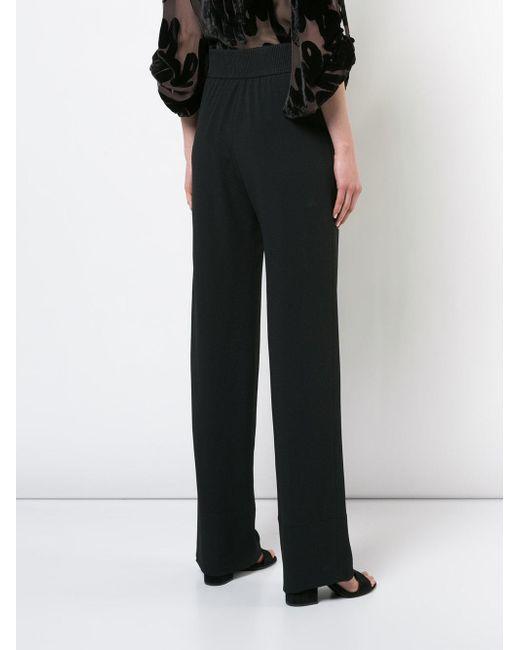 wide leg trousers - Black Veronique Leroy Cut-Price New Arrival Fashion coF5j4T9q