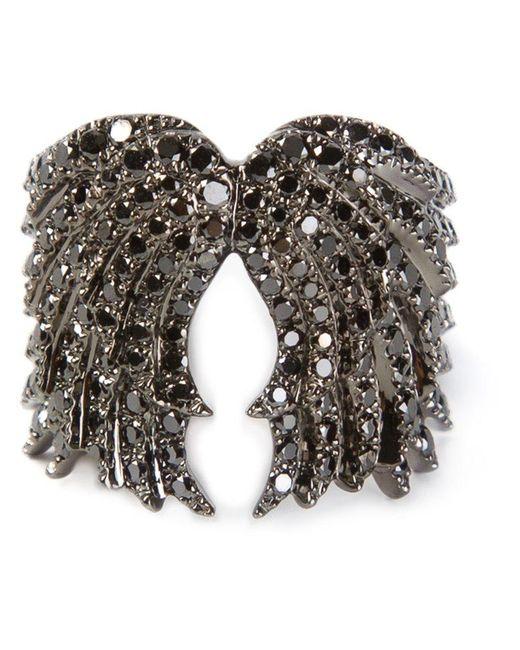 Elise Dray - Metallic Wings Ring - Lyst