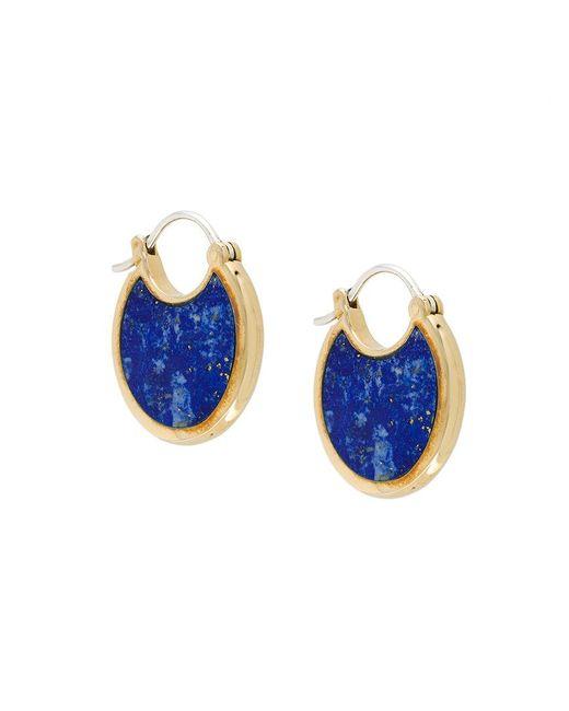 Pamela Love - Metallic Mojave Lazuli Lapis Earrings - Lyst