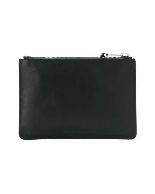Swallow patch clutch - Black Alexander McQueen QtWjES