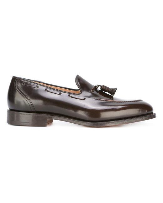 Church's - Brown Tassel Detail Loafers for Men - Lyst