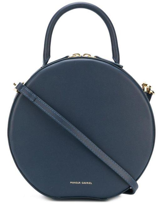 913598db2d3b Mansur Gavriel - Blue Circle Crossbody Bag - Lyst ...