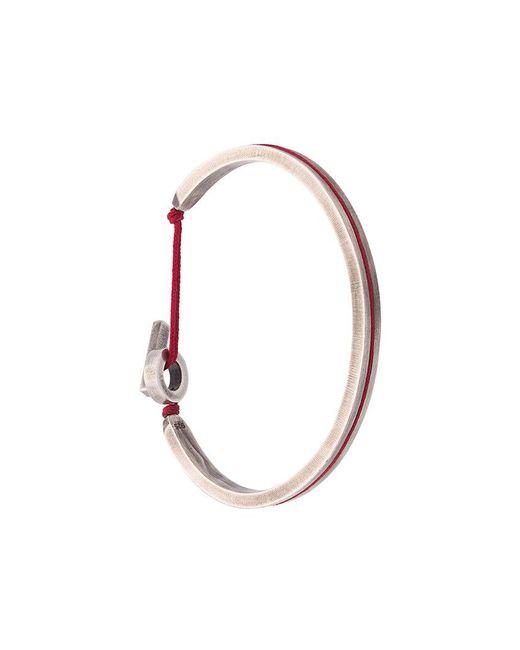 M. Cohen | Metallic Lined Cuff Bracelet for Men | Lyst