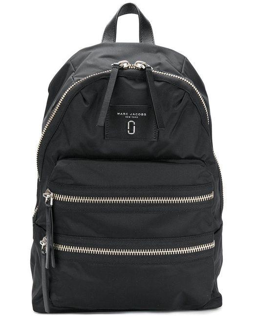 Marc Jacobs - Black Biker Backpack - Lyst
