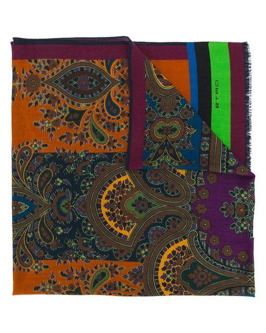 Etro | Multicolor Printed Scarf for Men | Lyst