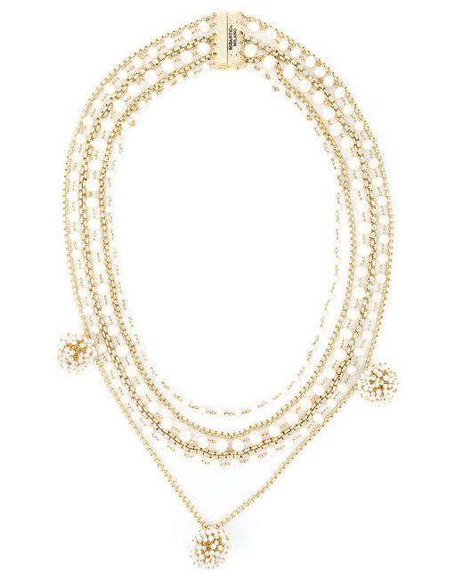 Rosantica - Metallic 'lucia' Necklace - Lyst
