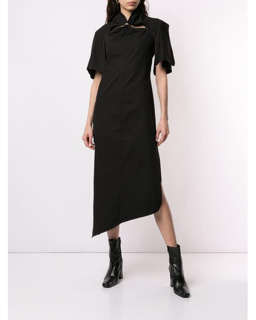 Lyst Ellery Holly Of Hollies Cinched Dress In Black
