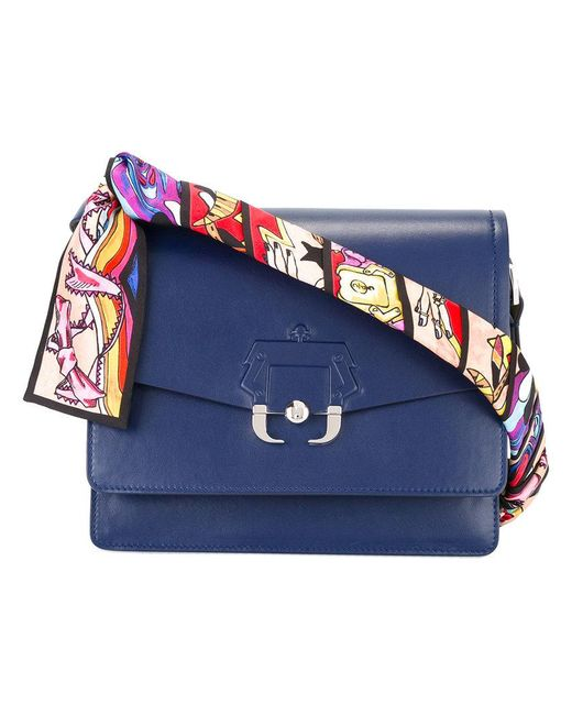 Twiggy shoulder bag - Blue Paula Cademartori PwLdnL