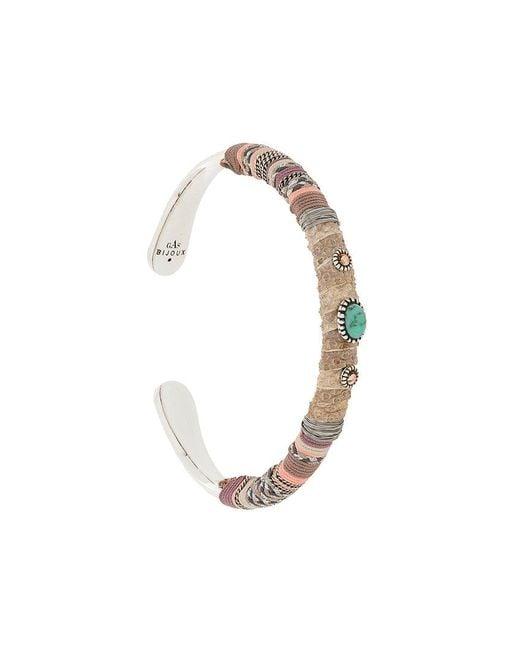 Gas Bijoux - Multicolor Massai Serti Bracelet - Lyst
