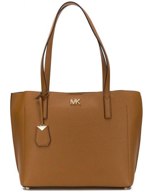 97253b9f75 MICHAEL Michael Kors - Brown Ana Tote Bag - Lyst ...