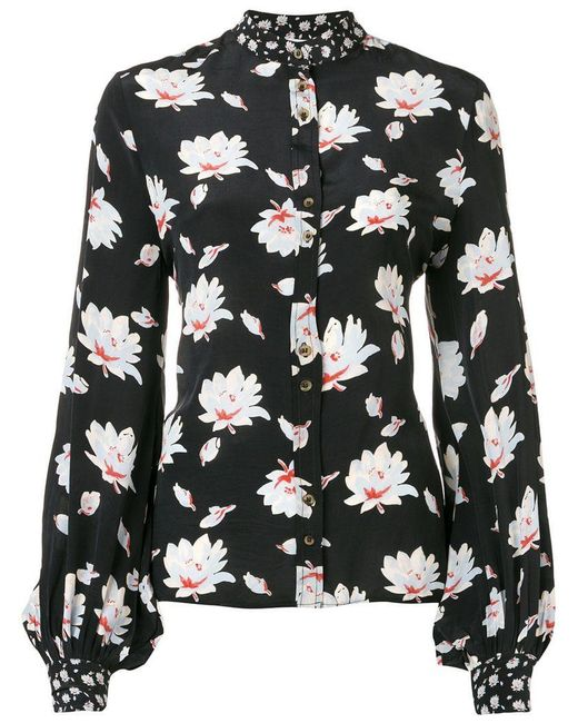 Lily and Lionel - Black Moonflower Maddox Shirt - Lyst